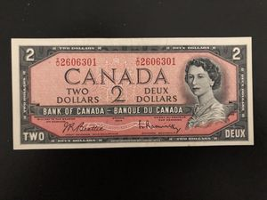 $2 bank of Canada uncirculated for Sale in Naples, FL