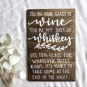 Wedding wood sign for Sale in Stafford, VA