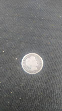 1905 silver dime Thumbnail