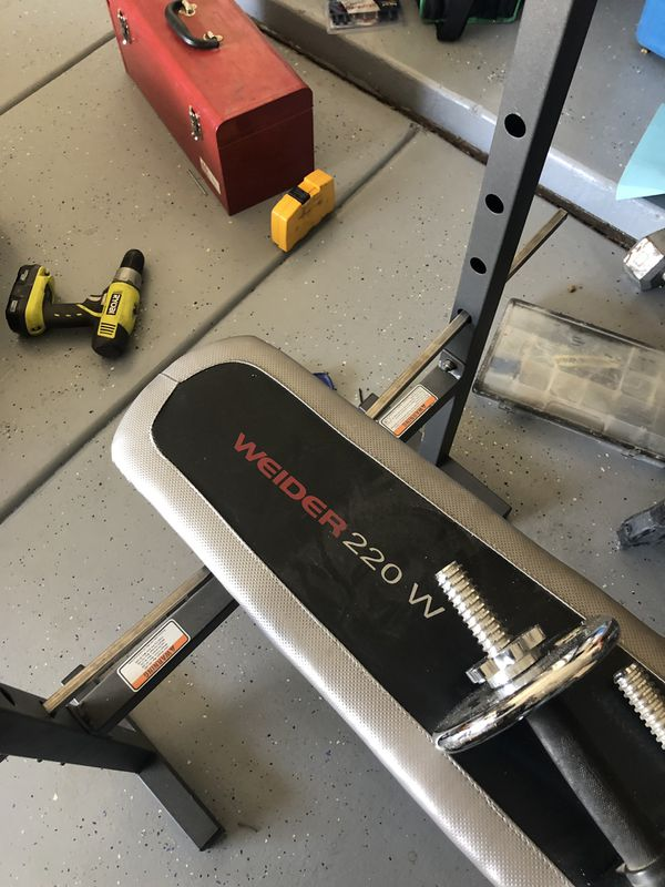 Weider 220 Olympic Weight Bench