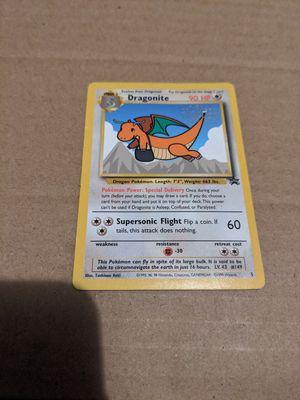 Photo Pokemon the first movie card. Dragonite