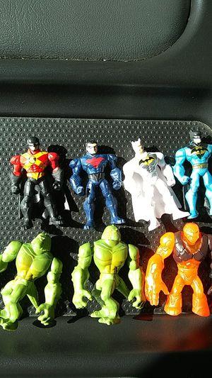 Batman mini figures clayface killer croc night wing for Sale in Norwalk, CA