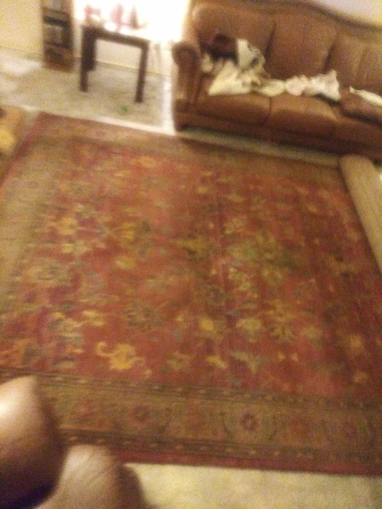 I have a gorgeous rug made in Egypt