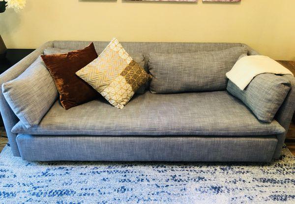 west elm shelter queen sleeper sofa for sale in los altos ca offerup. Black Bedroom Furniture Sets. Home Design Ideas