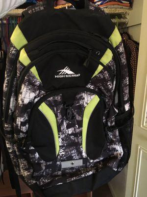 High Sierra backpack for Sale in Fairfax Station, VA
