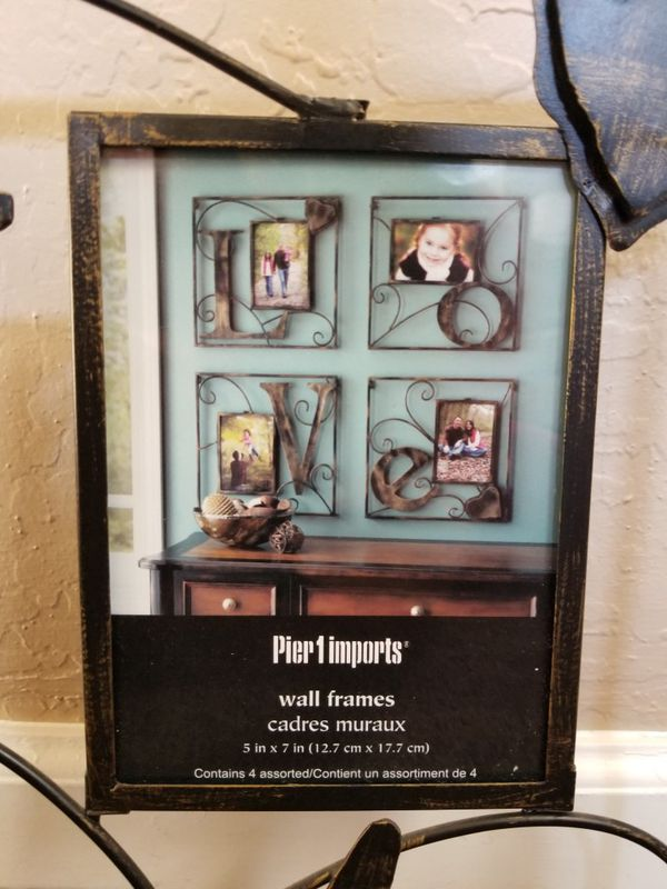 Pier 1 Imports - L O V E wall frames for Sale in Gilbert, AZ - OfferUp