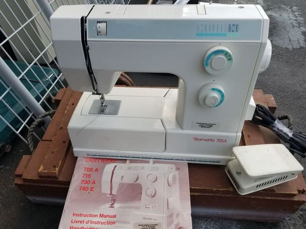 Bernette Sewing Machine For Sale In Tacoma WA OfferUp Extraordinary Bernette 730 Sewing Machine Reviews