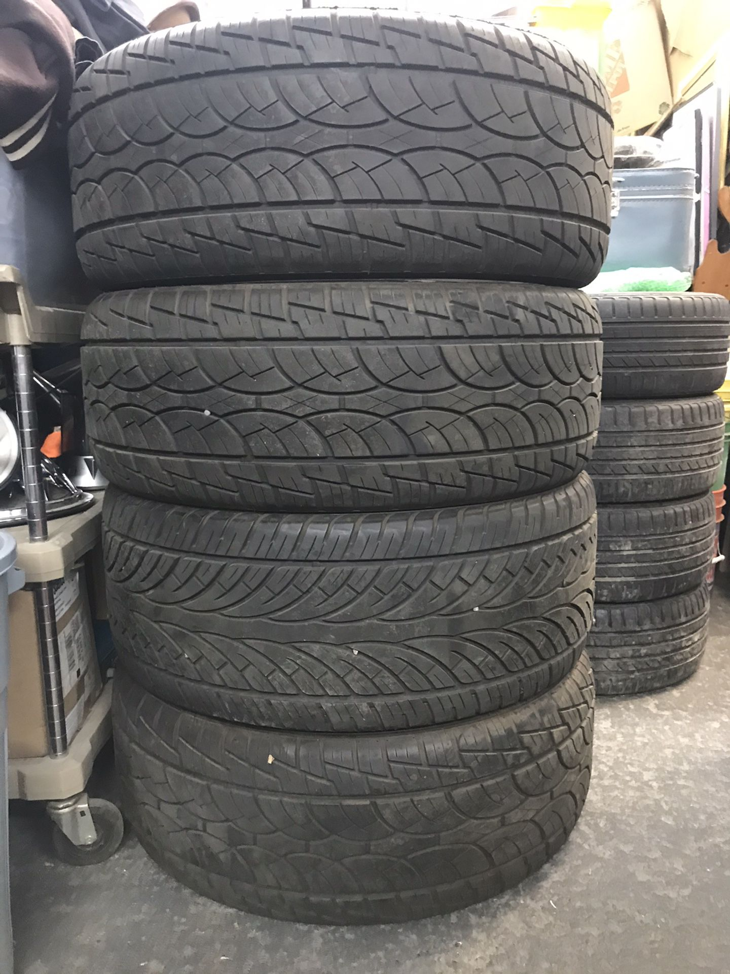 """NICE 24"""" rims and new tires"""