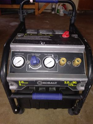 Kobalt 5 Gallons Electric Air Compressor For In Corpus Christi Tx