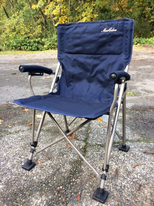 Sensational Maccabee Folding Camp Chair For Sale In Shoreline Wa Offerup Caraccident5 Cool Chair Designs And Ideas Caraccident5Info
