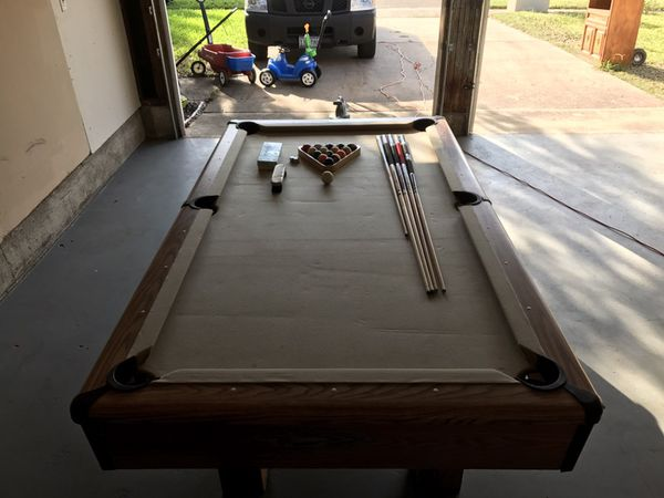 Ft Showood Pool Table For Sale In Garland TX OfferUp - Showood pool table