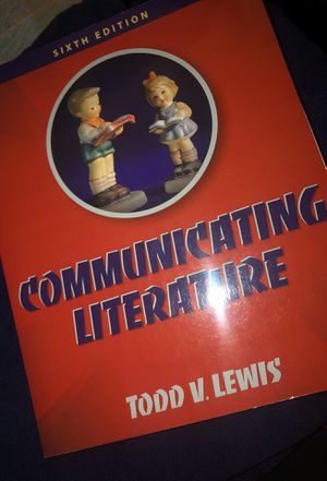 Communicating Literature (sixth edition) w/ access code for Sale in Fontana, CA