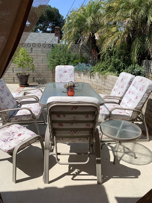 10 Pieces Outdoor Dining Set For Sale In San Dimas Ca