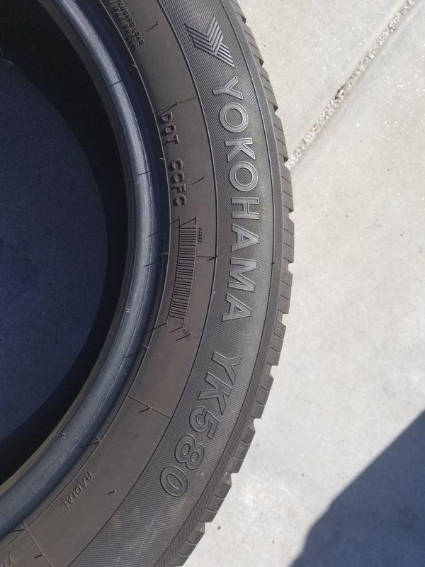 Used 225 60 R17 Tire Yokohama Yk580 For Sale In Phoenix Az Offerup