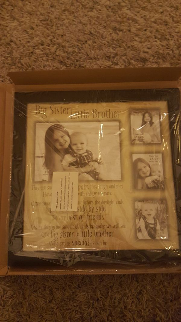 Big sister little brother picture frame for Sale in Burien, WA - OfferUp