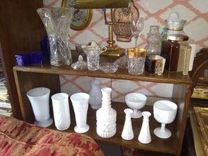 Milk glass and crystal for Sale in Philadelphia, PA