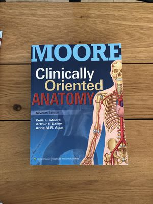 Clinically Oriented Anatomy Moore 7th Edition For Sale In San