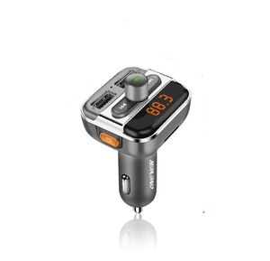Car Bluetooth Audio mp3 player hands free FM transmitter wireless modulator With Charger for Sale in Richmond, VA