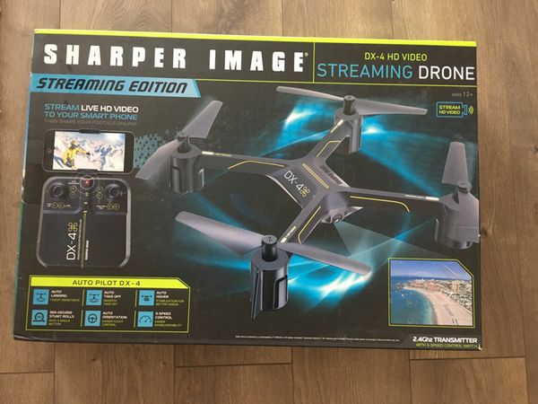 The Sharper Image Dx 4 Hd Video First Person View Streaming Drone