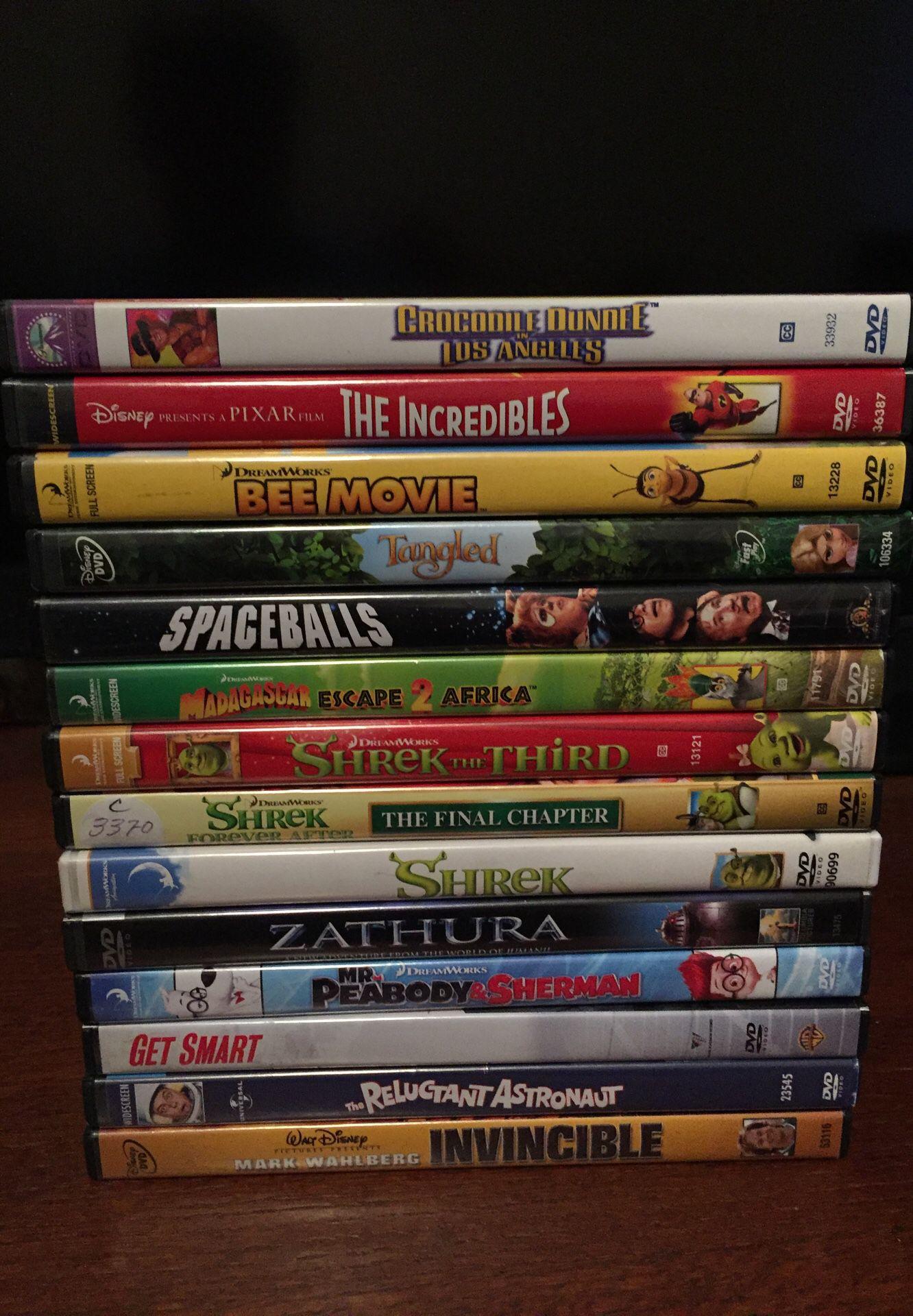 14 Family Movies(DVD)
