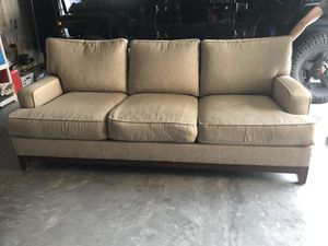 Ethan Allen - down cushion sofa for Sale in Moseley, VA