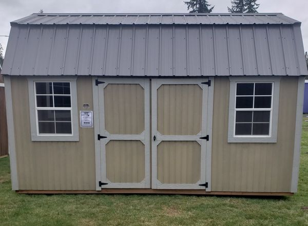 10x16 Side Lofted Barn by Graceland Portable Buildings for ...