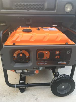 New generac rs5500 portable generator for Sale in Houston, TX - OfferUp