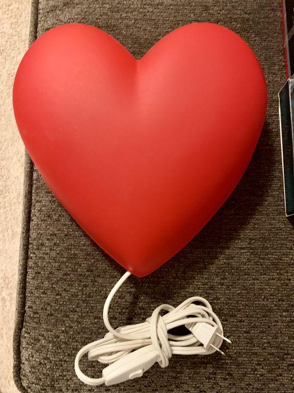 Ikea Heart Night Light