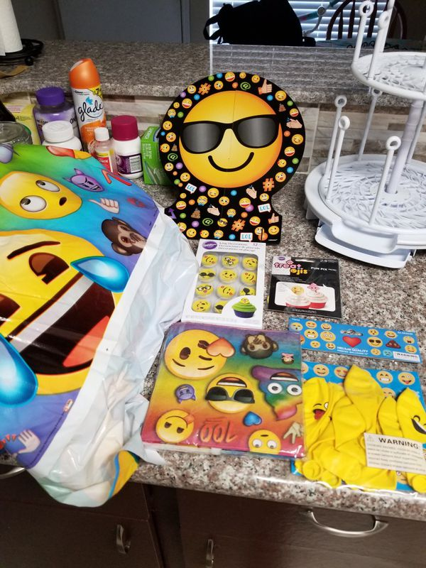 Emoji Birthday Decorations For Sale In Houston TX