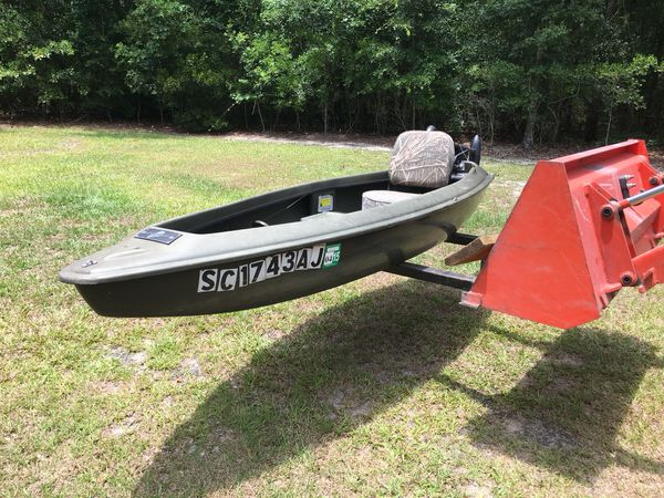 Warrior Sneak Boat Sn L10668c292 For Sale In Smoaks Sc Offerup