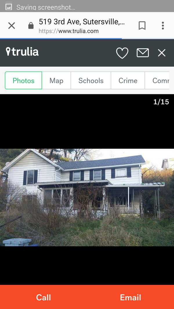 House for sale on land contract  282 a month for Sale in Sutersville, PA -  OfferUp