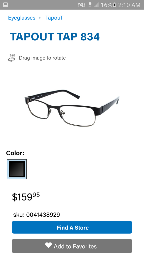 Tapout 834 Eyeglasses for Sale in San Antonio, TX - OfferUp