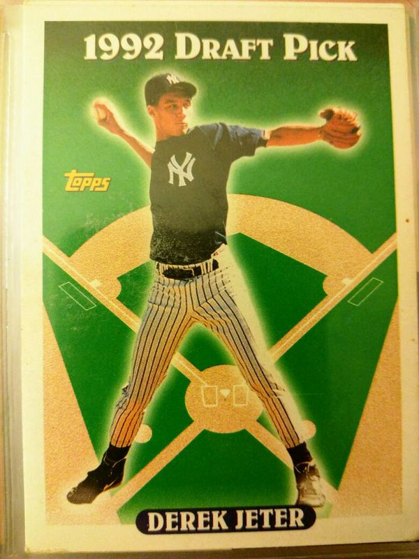 Derek Jeter Rookie Card 1992 For Sale In San Jose Ca Offerup