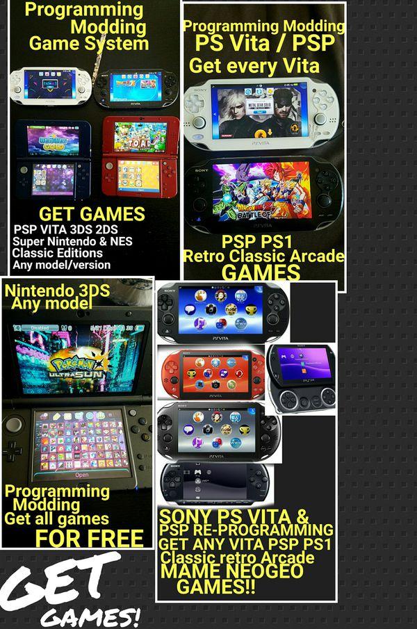 Vita Game Mods