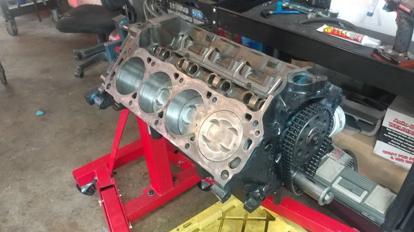 rebuilt ford 302 short block