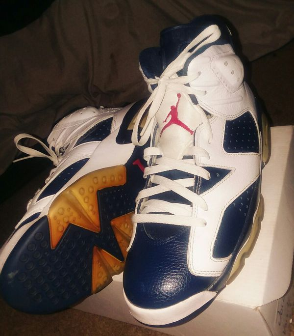 f84c86aeff7 AIR JORDAN Olympic 6s Size 9.5 No OG Box for Sale in Charlotte
