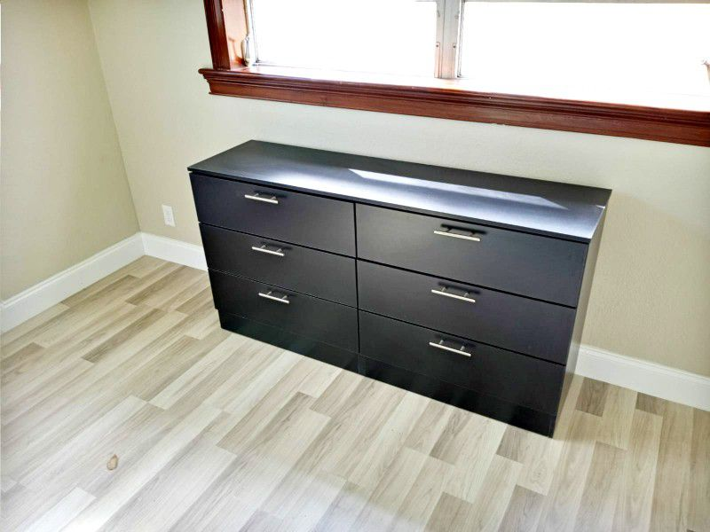 NEW DRESSER AND 2 NIGHTSTANDS. DRESSER ALSO SOLD SEPARATELY