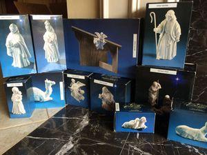 Vintage 1980s Porcelain Christmas nativity scene Avon , original boxes for Sale in Sugar Land, TX