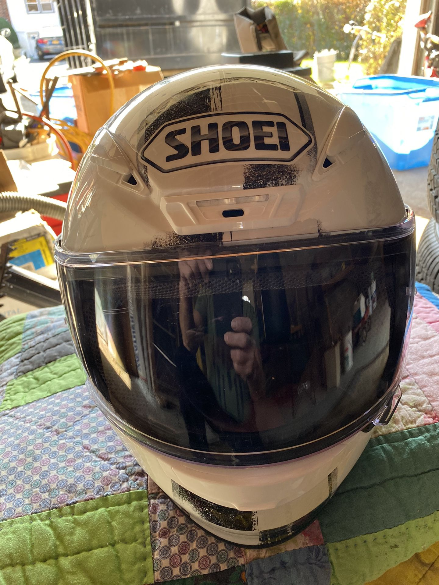Three motorcycle helmets two large one small $75 each. Or best offer DOT approved
