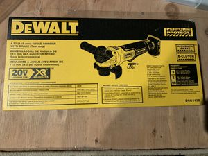 Dewalt DCG413 brushless angle grinder max xr Bare tool for Sale in San Jose, CA
