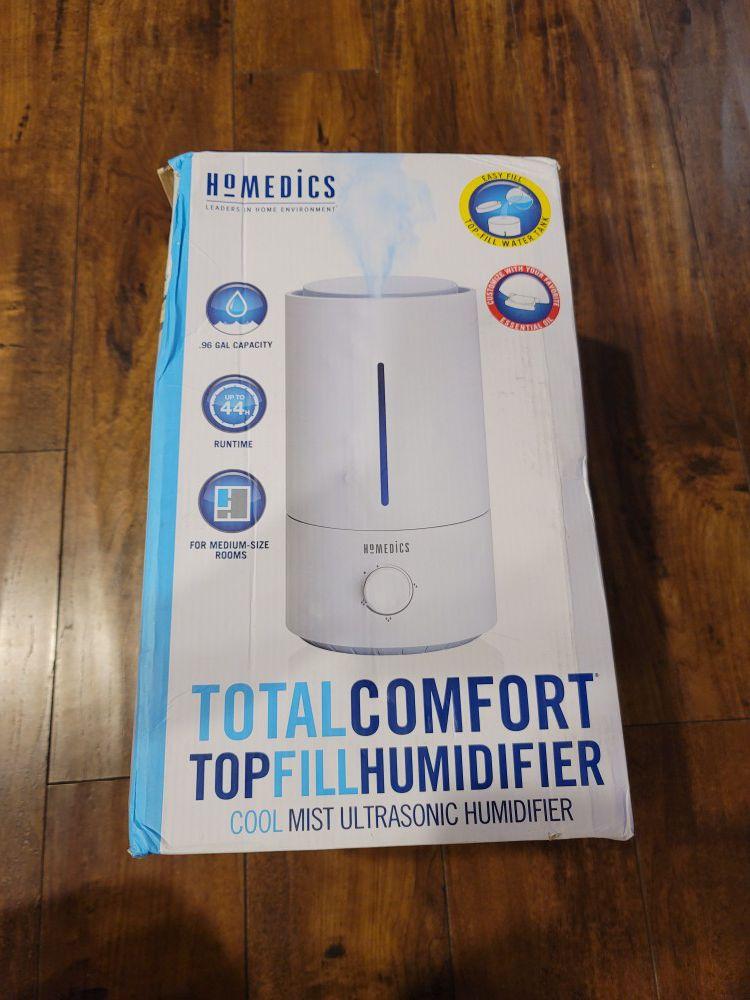 HoMedics Total Comfort Top Fill Humidifier