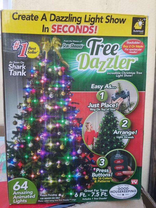 Shark Tank Christmas Tree Lights.New Tree Dazzler Christmas Lights For Sale In Pasadena Ca Offerup