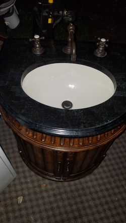 Nice and elegant sink and hannity made in indonesia Thumbnail