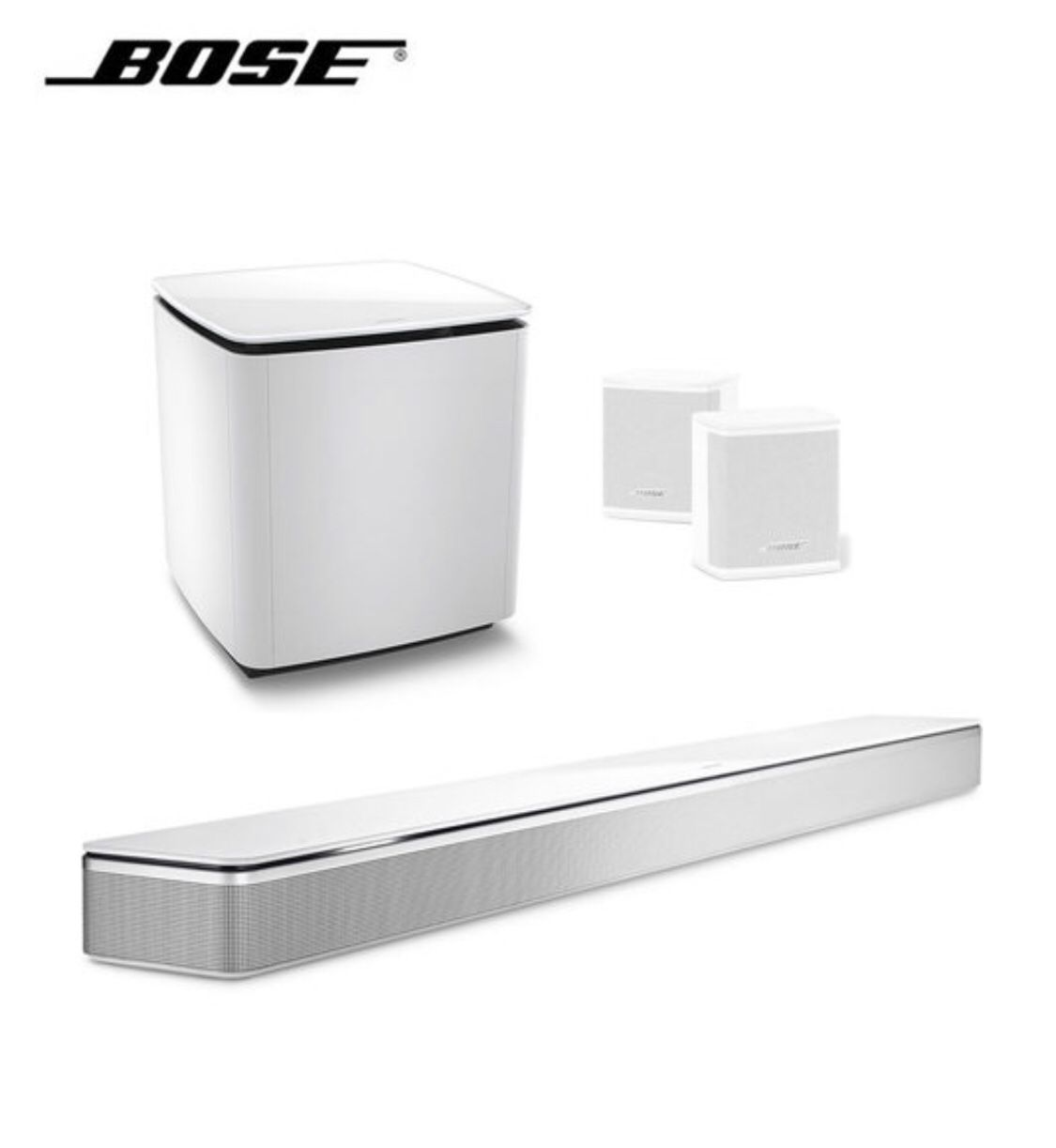 New Bose SoundBar 700 plus surround speakers