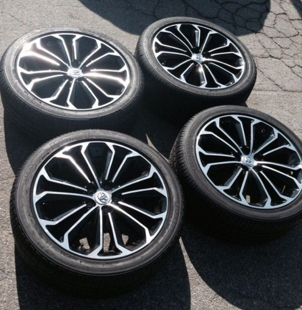 Toyota Corolla S Sport Rims And Tires