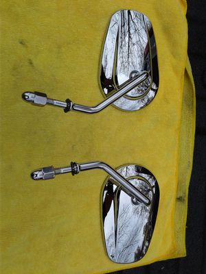 Harley Davidson Chrome short stem mirrors for Sale in Alexandria, VA