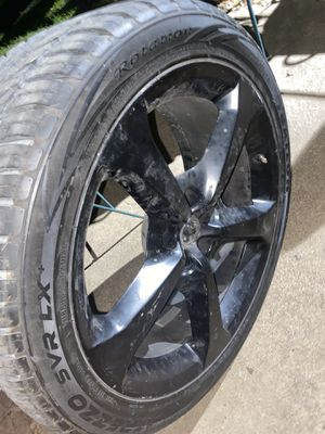 Photo 20in Chevy Truck Rims (wheels included)