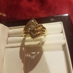 14 karat Diamond wedding set for Sale in North Las Vegas, NV