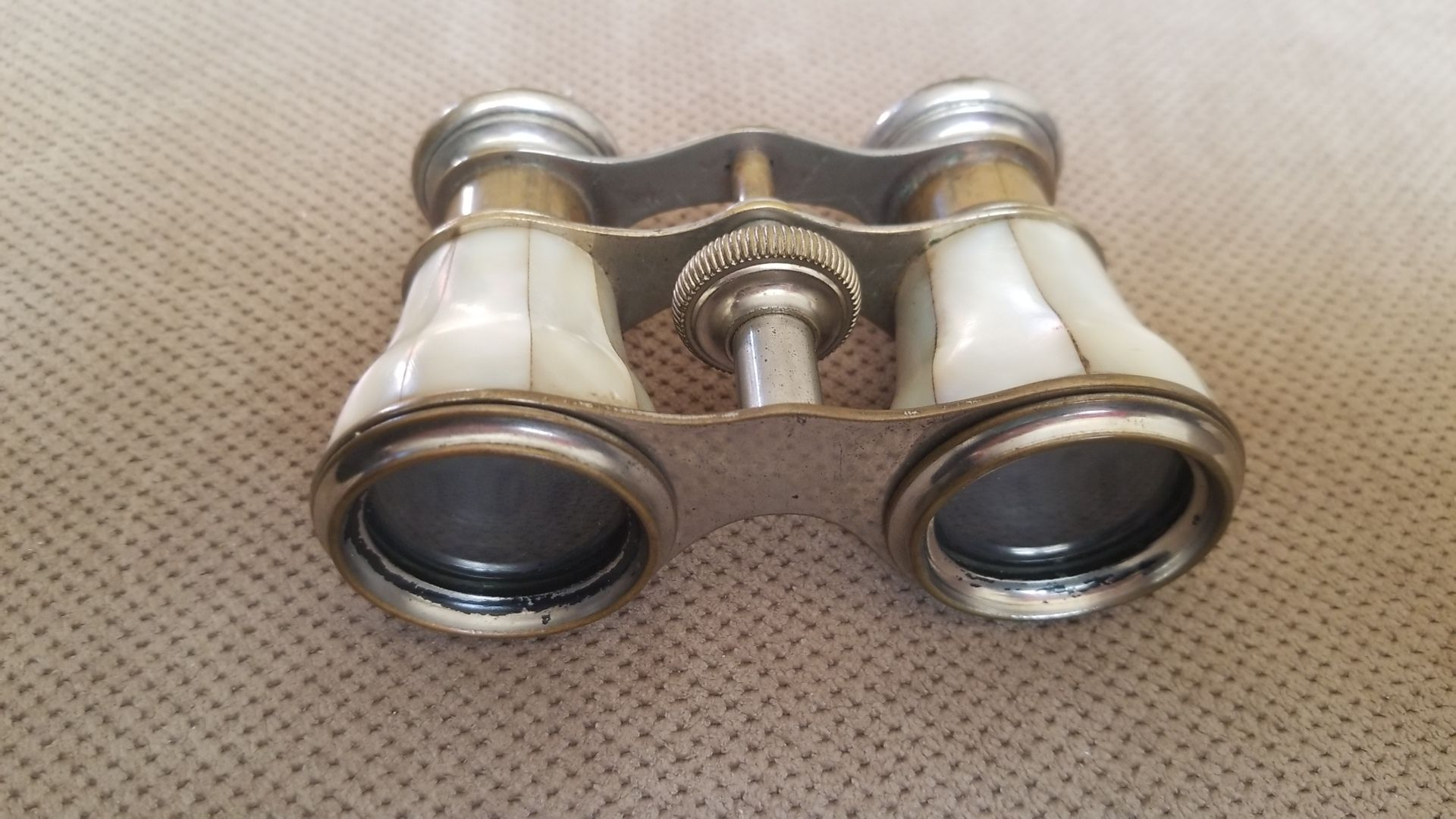 Antique Mother Of Pearl Opera Glasses