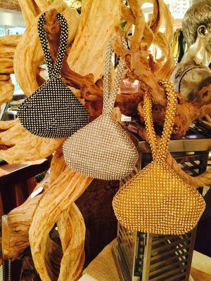 Crystal evening bag wristlets- 3 colors for Sale in Orlando, FL